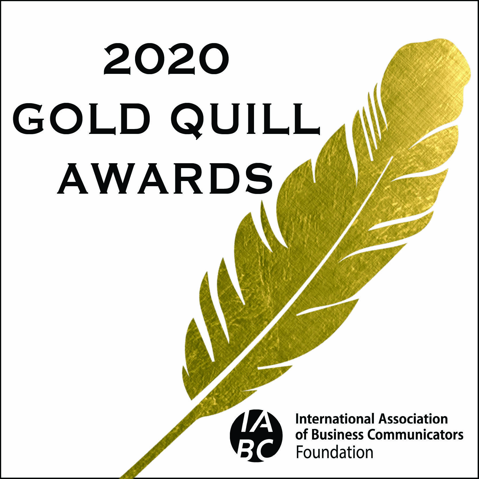 Gold Quill award logo