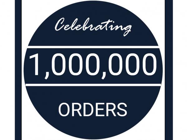 1,000,000 order badge v2